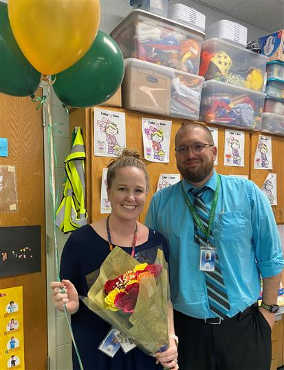 Green Valley Teacher of the Year!