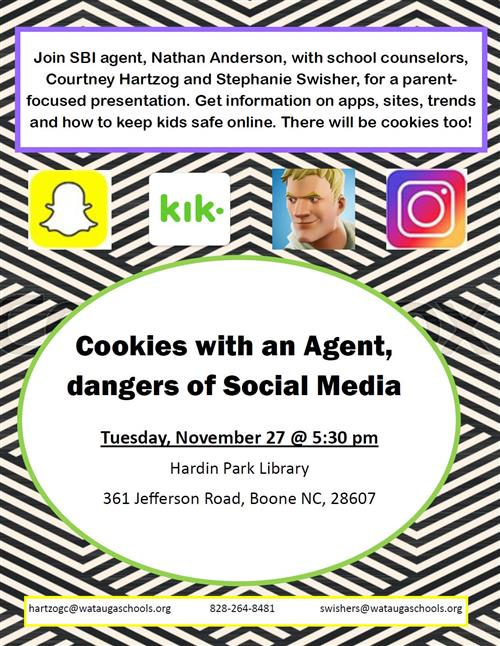 Social Media and Internet Safety Parent Session