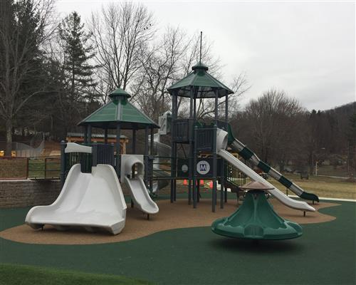 The Hardin Park Eagle's Nest Playground