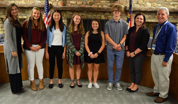 WHS students recognized.