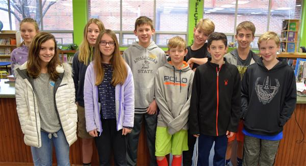 Blowing Rock students eligible to compete in state science fair