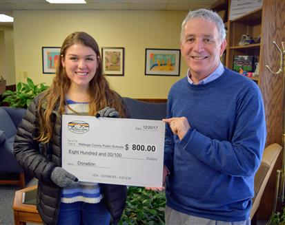 App State student group donates to WCS