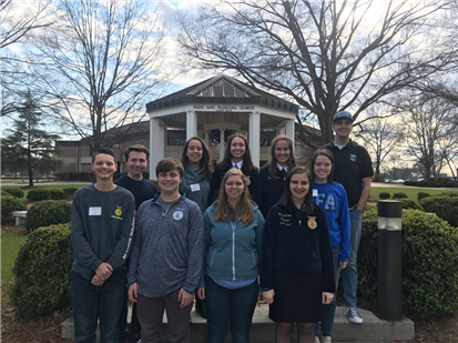 WHS FFA places well in state competition