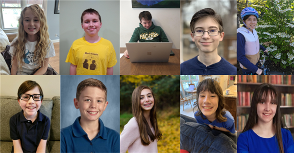 Collage of mathcounts students