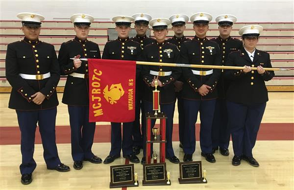 WHS MCJROTC takes top spot at regional drill meet